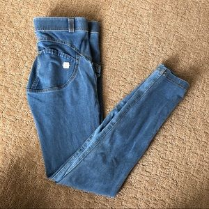 Freddy WR.UP Mid Rise Denim Skinny Blue XS $129
